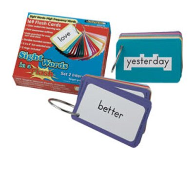 Edupress Sight Words In A Flash Set 3 gr 2-3