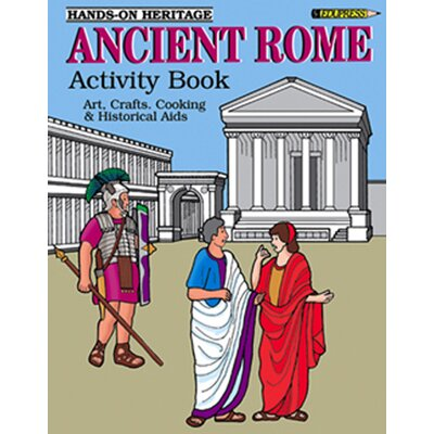 Edupress Activity Book Ancient Rome Gr 2-6