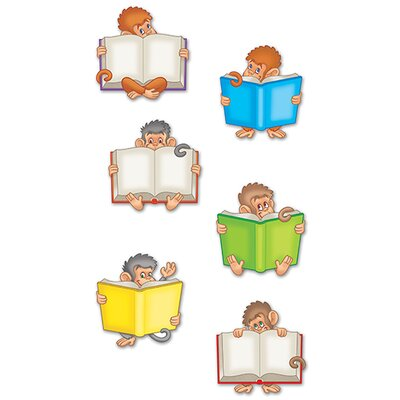 Edupress Monkeys Mini Accents (Set of 6)