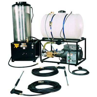 Cam Spray STAT Series 2500 PSI Hot Water Liquid Propane Pressure Washer