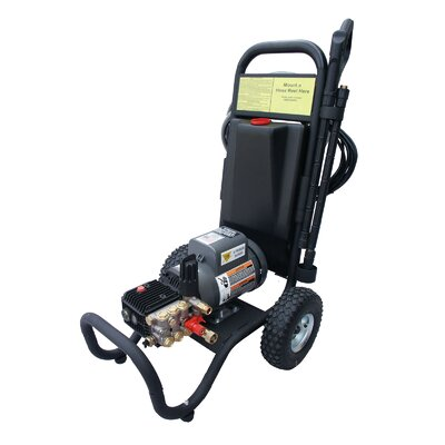 1500 PSI Cold Water Electric Tube Cart Pressure Washer
