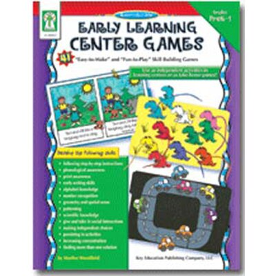 Frank Schaffer Publications/Carson Dellosa Publications Early Learning Center Games