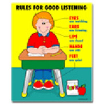 Frank Schaffer Publications/Carson Dellosa Publications Chartlet Rules For Good Listening