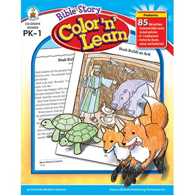 Frank Schaffer Publications/Carson Dellosa Publications Bible Story Color N Learn