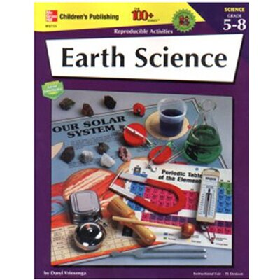Frank Schaffer Publications/Carson Dellosa Publications Earth Science 100+ Gr 5-8