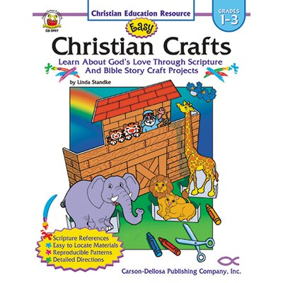 Frank Schaffer Publications/Carson Dellosa Publications Easy Christian Crafts Gr 1-3