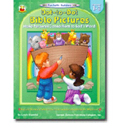Frank Schaffer Publications/Carson Dellosa Publications Dot-to-dot Bible Pictures Gr 1-3