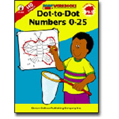 Frank Schaffer Publications/Carson Dellosa Publications Dot-to-dot Numbers 0-25 Home