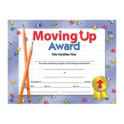 Hayes School Publishing Moving Up Award