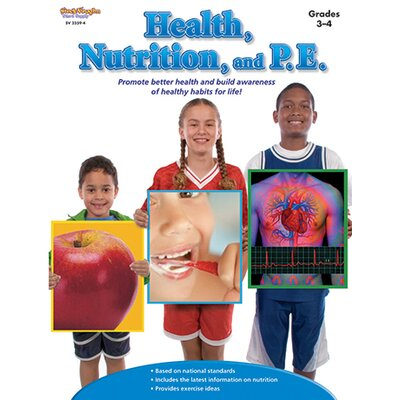Houghton Mifflin Harcourt Health Nutrition And Pe Gr 3-4