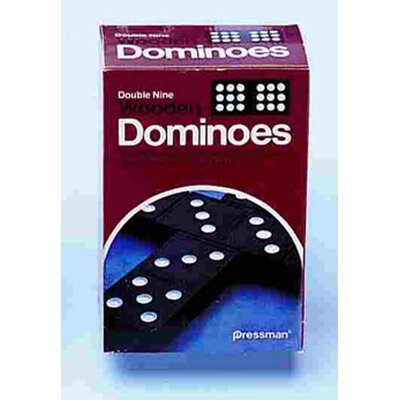 Pressman Toys Double Nine Dominoes