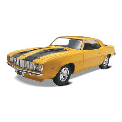 1:25 '69 Camaro Z:28 SS Plastic Model Kit