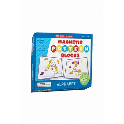 Teachers Friend Magnetic Pattern Blocks Alphabet