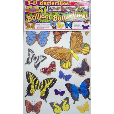 Teachers Friend 3-d Butterflies Bb Set