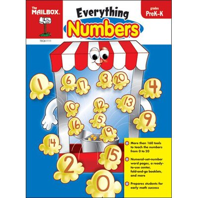 The Education Center Everything Numbers Prek-k