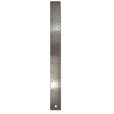 The Pencil Grip Stainless Steel 12in Ruler