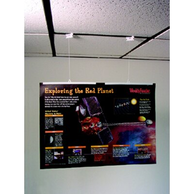 The StikkiWorks Co Ceiling Hanglers Poster Kits