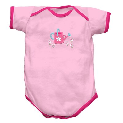 i play. Organically Grown Short Sleeve Bodysuit-Cottage