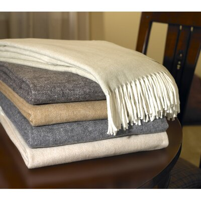 Lands Downunder Assiro Herringbone Throw