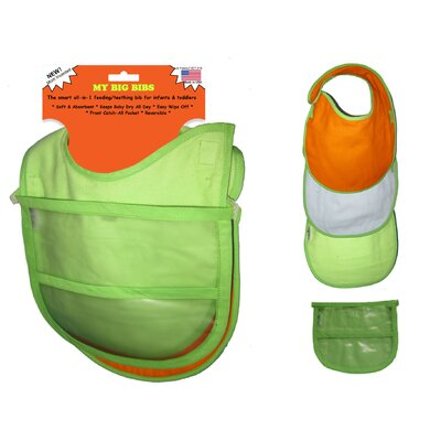 Wow Baby Teething / Feeding Reversable Bib Set