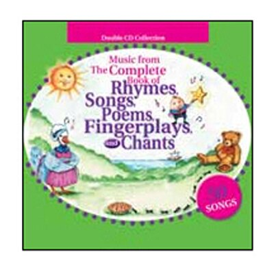 Gryphon House Music From Complete Book Of Rhymes