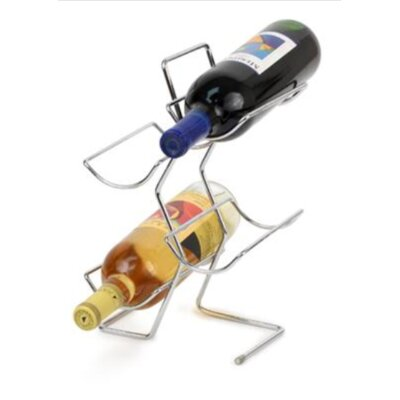 Spectrum Diversified 4 Bottle Tabletop Wine Rack