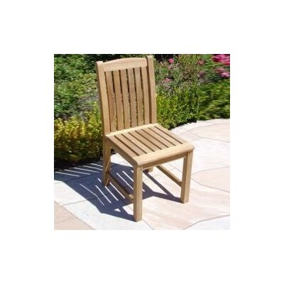 Royal Teak by Lanza Products Teakwood Dining Side Chair