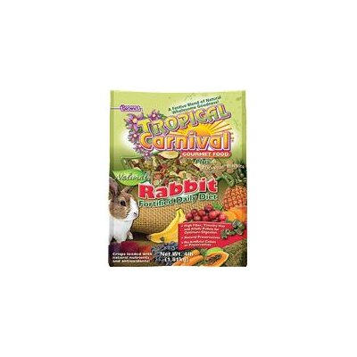 F.M. Browns Wildbird Tropical Carnival Natural Rabbit Food - 4 lbs