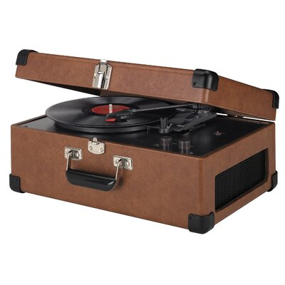 Crosley Tan Traveler Turntable