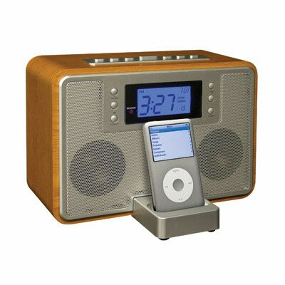 Crosley Tempo IPod Docking Station in Oak