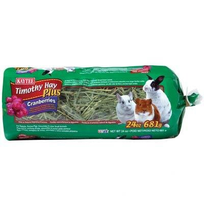 Kaytee Products Wild Bird Timothy Hay Plus
