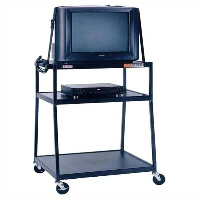"VTI 44"" High, 2-Shelf Extra Wide Body TV Cart"