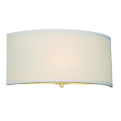 Philips Forecast Lighting Cassandra Wall Sconce in White Grasscloth