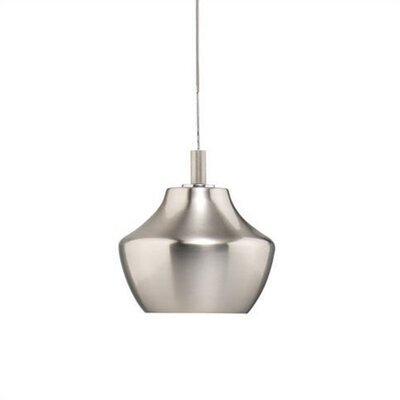 Carafe Mini Pendant Shade in Satin Nickel