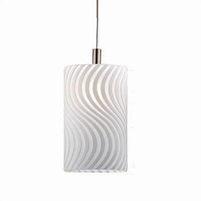 Philips Forecast Lighting Austin Mini Pendant Shade in White on White