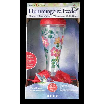 Woodstream Hummingbird Hand-painted Hummingbird Feeder
