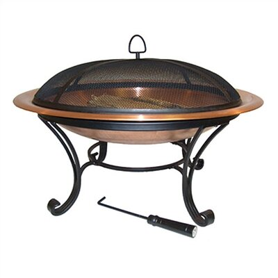 "Corral 40"" Round Copper Fire Pit"