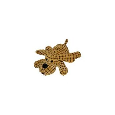 "Patchwork Pets 14"" Waffle Wags Plush Dog in Gold"