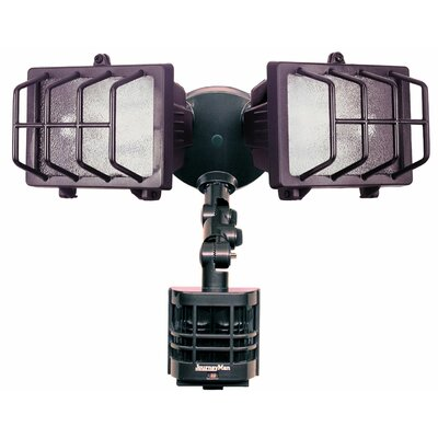 Heath-Zenith Journeyman Motion Activated Security Light in Bronze
