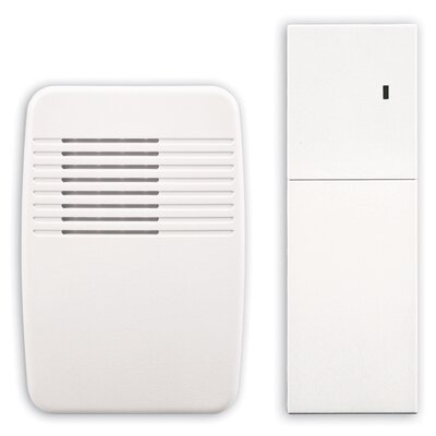 Wireless Plug-In Door Chime Extender in White