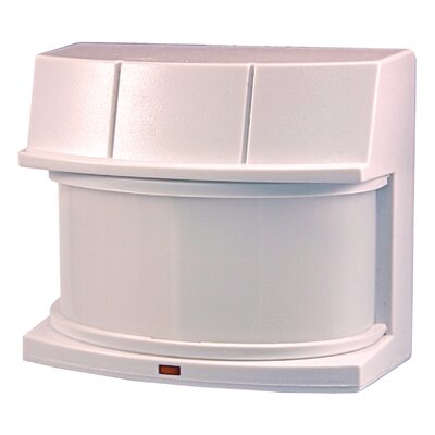 240 Degree Replacement Wide Angle Motion Sensor in White