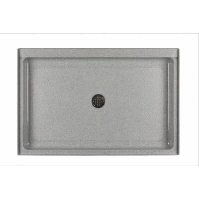 Swanstone Single Threshold Rectangular Shower Base