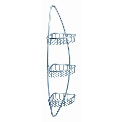 Fresca 3 Tier Corner Wire Basket