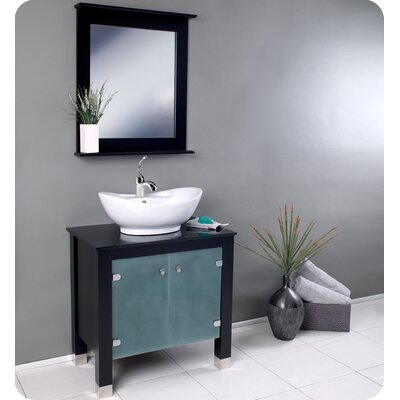 Fresca Emotivo Espresso Modern Bathroom Vanity with Mirror