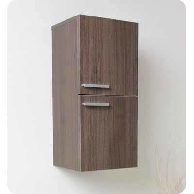 Fresca Bathroom Linen Side Cabinet with 2 Storage Areas