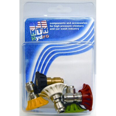 MTM Hydro 4000 PSI 5.5 Orifice Size Quick Connect Nozzle (5-Pack)