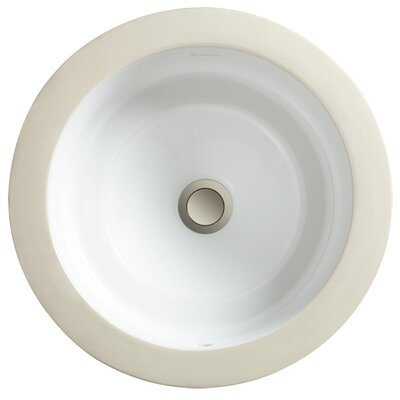 Marquee Round Medium Undermount Bathroom Sink - 12070-09