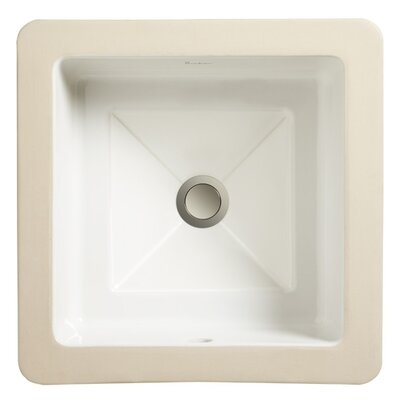Marquee Petite Square Small Undermount Bathroom Sink - 12120-00
