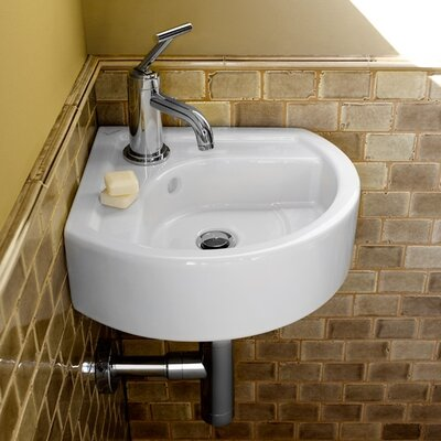 Porcher Solutions Small Corner Bathroom Sink