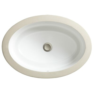Marquee Oval Large Undermount Bathroom Sink - 12010-00
